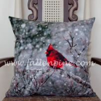 Cardinal Winter Storm 2 Pillow