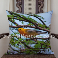 Prothonotary Warbler Pillow Front