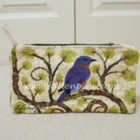 Bluebird on Sassafras Bag