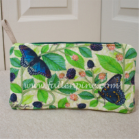Blackberry Butterfly Bag