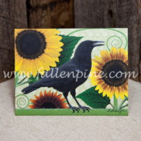 Crows and Sunflowers Notecards