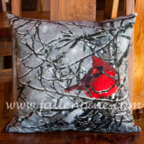 Cardinal Winter Storm 1 Pillow