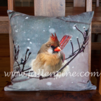 Peaceful Snowfall 1 Pillow