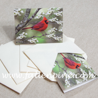 Cardinal Notecard