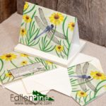 Dragonfly Sneezeweed Notecard
