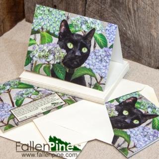 puss walter notecard