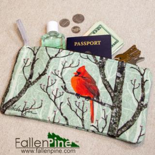 Cardinal Winter Pair Bag