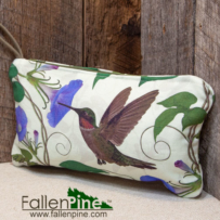 Hummingbird & Morning Glory Bag